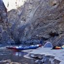 Узкий и глубокий каньон Сатледжа