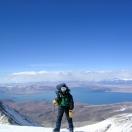 Вид с Гурлы на озеро Ракшастал
