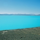 Ultra azure and ultra cold water of the Pangong Lake