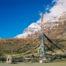 Tarboche in front of Mt. Kailash