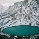 Озеро Гаурикунд чуть ниже перевала Дролма Ла