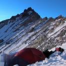 Лагерь 6400 на склоне Гурла Мандхаты