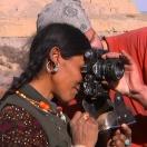 Тибетка и фотоаппарат