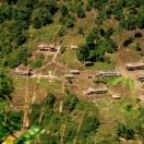 Тагинская деревня у дороги