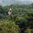 Флаг религии Доньи-Поло, название которой переводится как 'Солнце и Луна'