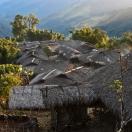 Деревня Пайюм на закате