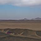 Первый лагерь в пустыне