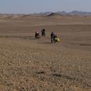 В пустыню