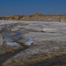 Пресный лед на толстом слое соли