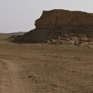 Along the Lopnur dry bed