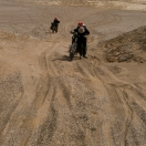 Too deep sand to ride