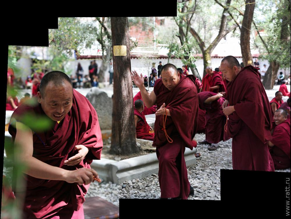 Монахи Сера - убеждение за три шага