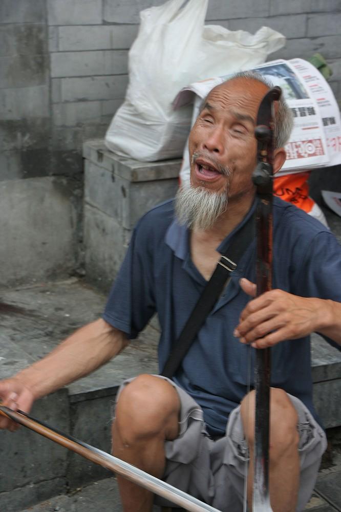 китайский музыкант