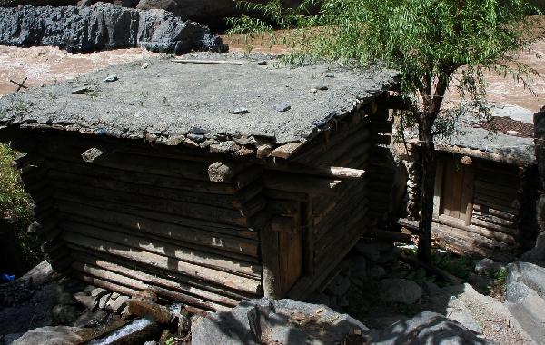 Каскад водяных мельниц на притоке Салуина