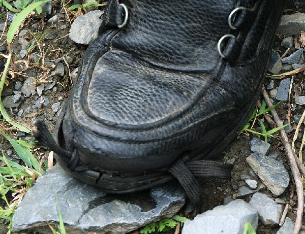 …и его туфля