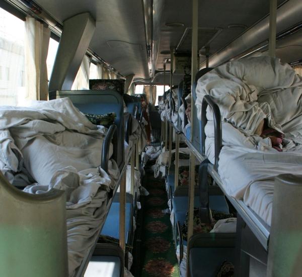 Китайский спальный автобус