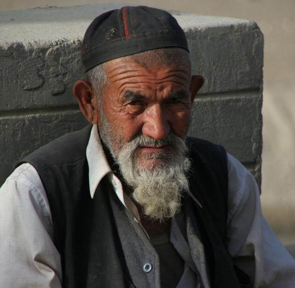 Уйгурский дед