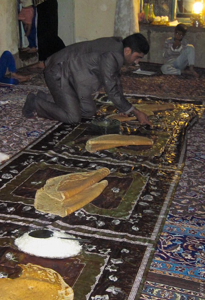 иранские лепешки