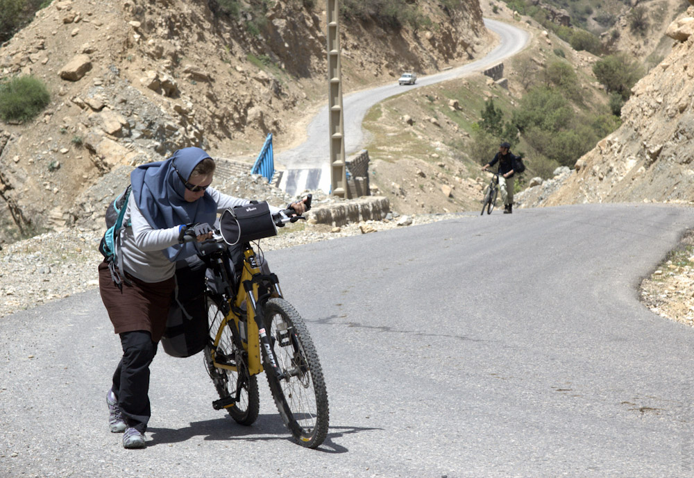 Велосипед в Иране