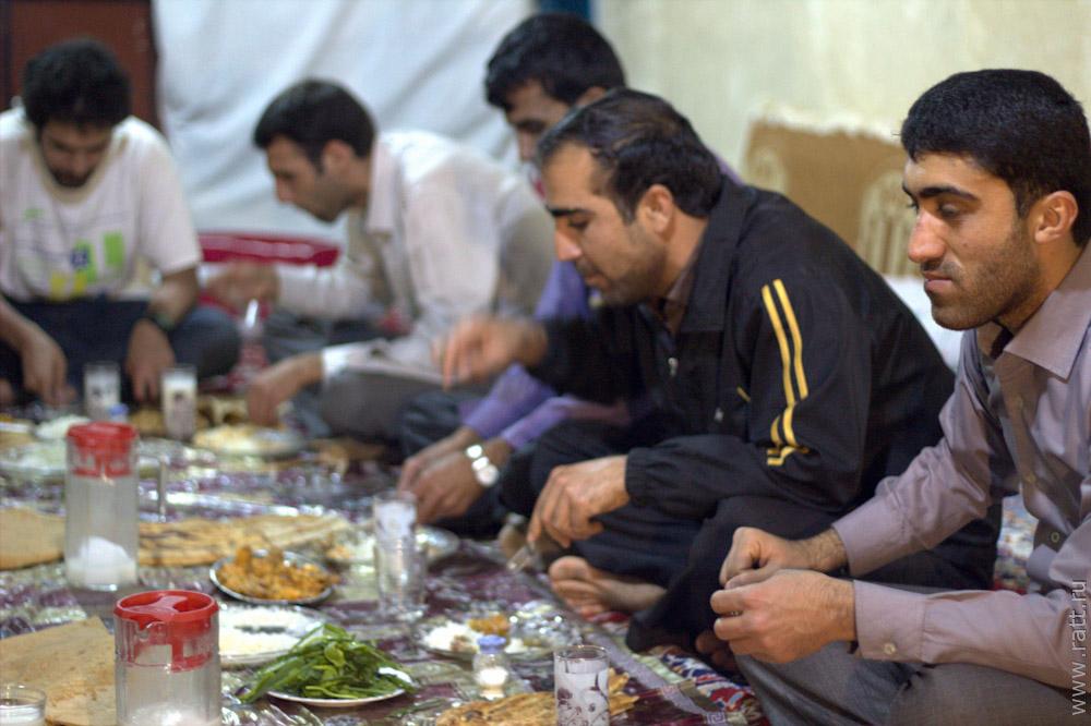 иранское застолье