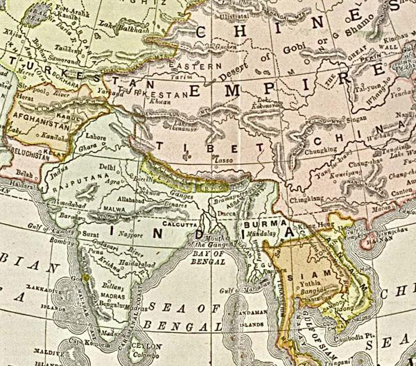 Карта Радуги