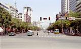 Главная улица Ланжоу