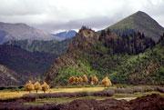 Сушка сена у озера Равок